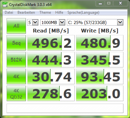 Samsung SSD 840 EVO 250GB mSATA ATA Device